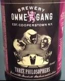 Ommegang Three Philosophers With Strawberry & Cranberry Beer