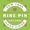Nine Pin Cider Elderflower Lime beer