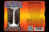 High Water Campfire Stout Beer