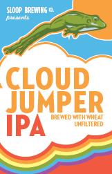 Sloop Cloud Jumper beer Label Full Size