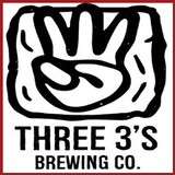 Three 3s Blueberry Saison beer