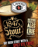 Lavery 1847 Rye Stout beer