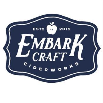 Embark Craft Ciderworks - American Hopped beer Label Full Size