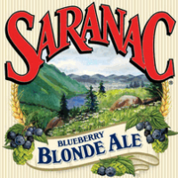 Saranac Blueberry Blonde Ale beer Label Full Size