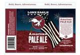 Lone Eagle American Pale Ale beer