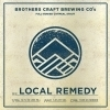 Brothers Craft Local Remedy Beer