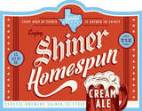 Shiner Homespun Cream Ale Beer