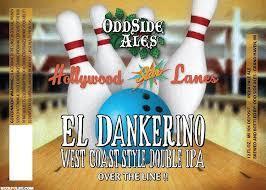 Odd Side El Dankerino beer Label Full Size