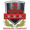 3 Stars Pounding Trees beer Label Full Size