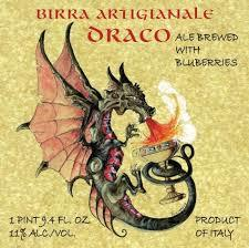 Montegioco Draco beer Label Full Size