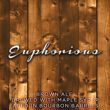 Rochester Mills Euphorious - Bourbon Barrel Aged Maple Brown Ale beer