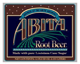 Abita Root Beer beer Label Full Size