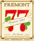 Fremont 77 Select Spring Session IPA beer