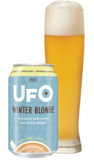 UFO Winter Blonde beer