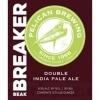 Pelican Beak Breaker Double IPA beer Label Full Size