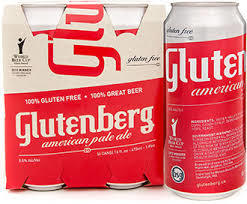 Glutenberg American Pale Ale beer Label Full Size
