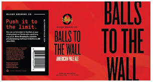 Oliver Balls To The Wall Pale Ale Beer