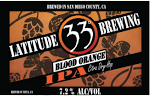 Latitude 33 Blood Orange IPA Beer