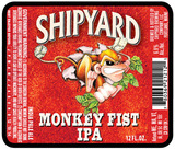 Shipyard Monkey Fist IPA beer