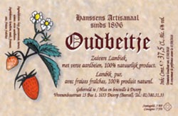 Hanssens Oudbeitje beer Label Full Size