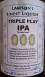 Lawson's Triple Play IPA beer