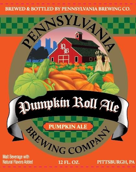 Penn Pumpkin Roll beer Label Full Size