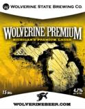 Wolverine State Premium Lager beer