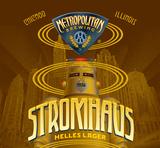 Metropolitan Stromhaus Helles beer