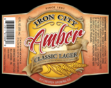 Iron City Amber beer
