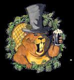 Rusty Beaver Quake Stout beer
