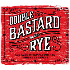 Stone Double Bastard In The Rye Aged In Templeton Rye Barrels 2016 beer Label Full Size