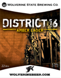 Wolverine State District 16 beer