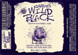 Shadow's Wild Black Blackberry Lager beer