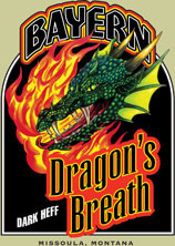 Bayern Dragon's Breath Dark Heff Beer