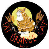 Fat Orange Cat Brother Bluto beer