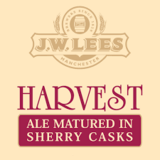 J. W. Lees Harvest Ale Matured in Sherry Casks 2010 beer