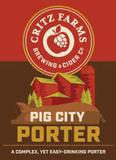 Critz Farms Pig City Porter Beer