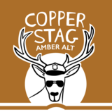 One Barrel Copper Stag beer