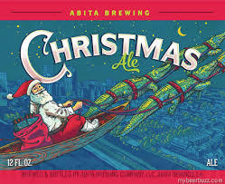 Abita Christmas Ale 2016 beer Label Full Size