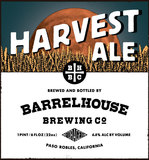 Barrelhouse Brew Harvest Ales beer