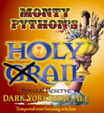 Black Sheep Monty Python's Holy Grail Dark Knight's Reserve Beer