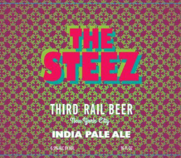 Third Rail The Steez IPA Beer