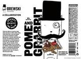 Against the Grain/ Brewski Pomme and Grabbit Beer