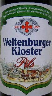 Weltenburger Kloster Pils beer Label Full Size