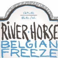 River Horse Belgian Freeze beer Label Full Size