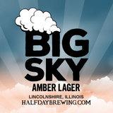 Half Day Big Sky Amber Lager Beer