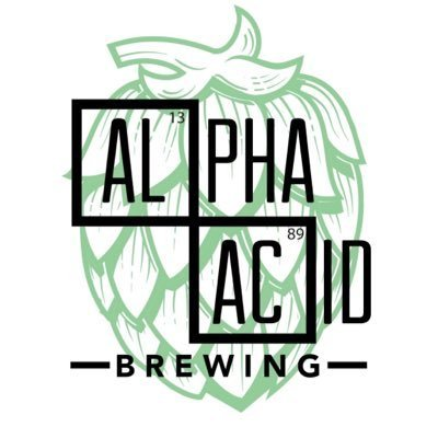 Alpha Acid May The Haze Be With You beer Label Full Size