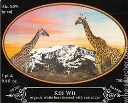 Logsdon Kili Wit beer Label Full Size