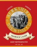 Berkshire Maibock Lager Beer