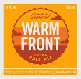 Lakefront Warm Front Beer